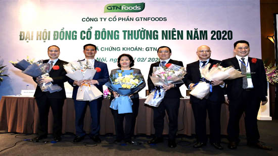 Đại hội GTN Foods: Bà Mai Kiều Liên chính thức trở thành Chủ tịch HĐQT