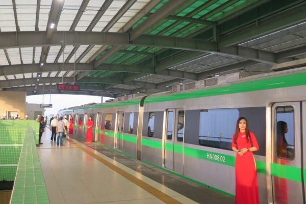 Vận hành thử đường sắt Cát Linh – Hà Đông ngay sau khi chuyên gia trở lại
