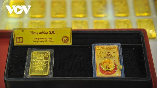Giá vàng trong nước và thế giới quay đầu tăng mạnh