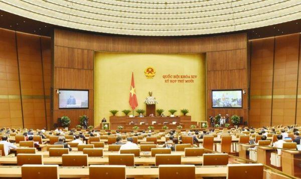 Quốc hội nghe báo cáo về phòng chống tham nhũng