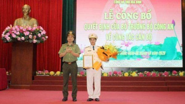 Hòa Bình có Phó giám đốc Công an tỉnh 37 tuổi