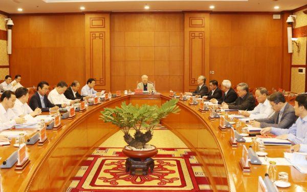 Tổng Bí thư, Chủ tịch nước Nguyễn Phú Trọng chủ trì họp Thường trực Ban Chỉ đạo T.Ư về phòng, chống tham nhũng