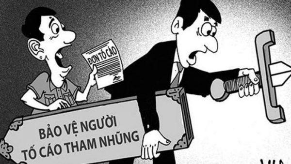 Biện pháp bảo vệ người tố cáo hành vi tham nhũng, lãng phí