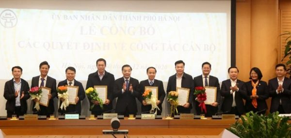Hà Nội bổ nhiệm 6 vị trí lãnh đạo
