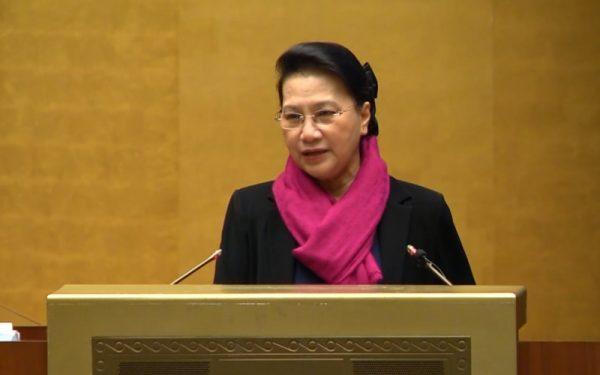 Chủ tịch Quốc hội Nguyễn Thị Kim Ngân: Đổi mới, nâng cao hơn nữa chất lượng công tác tham mưu, phục vụ hoạt động của Quốc hội