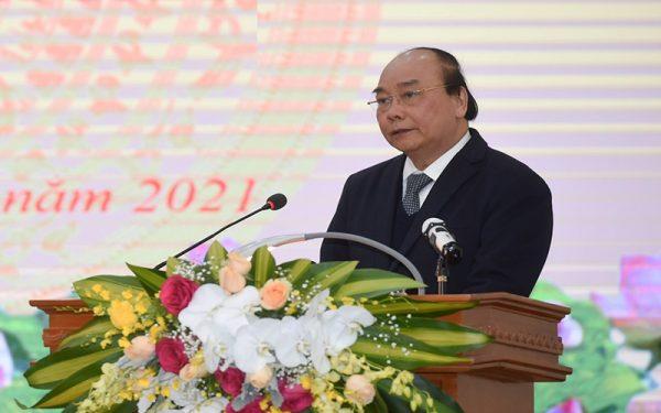 Thủ tướng Nguyễn Xuân Phúc dự hội nghị triển khai nhiệm vụ năm 2021 của ngành thanh tra