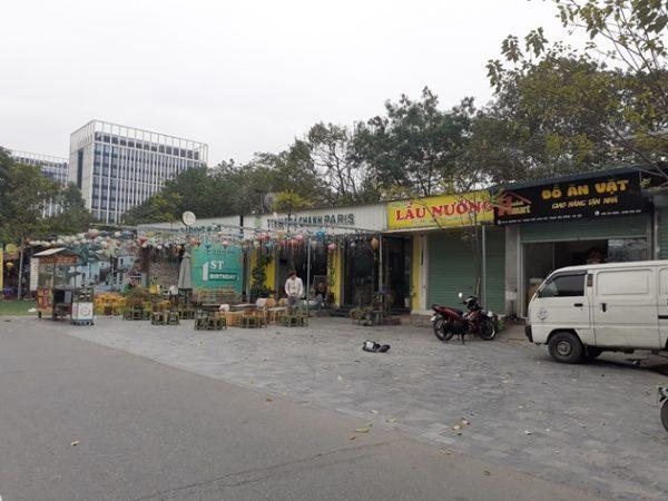 Hà Nội: Ai chống lưng cho hành vi chiếm đất công viên xây dựng trái phép ở Cổ Nhuế 1?