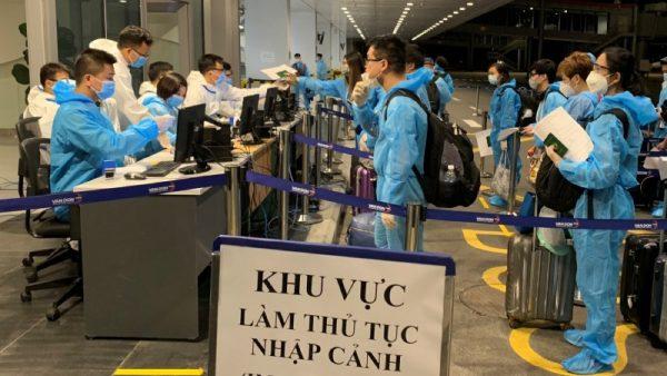 Bộ Y tế tổ chức 5 đoàn kiểm tra xuất nhập cảnh, cách ly