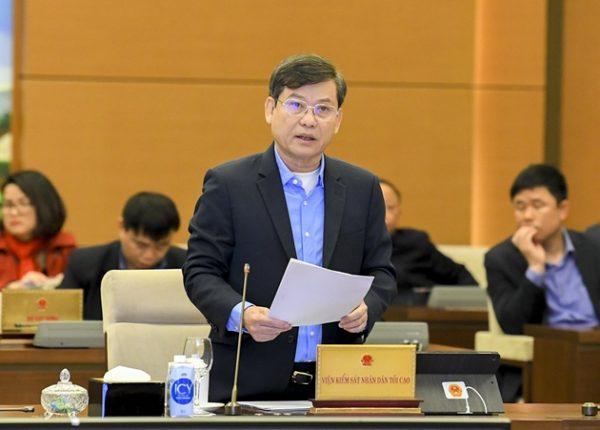 """Viện trưởng Lê Minh Trí: """"Người đã tham nhũng thì không bao giờ tự mình đứng tên tài sản cả"""""""