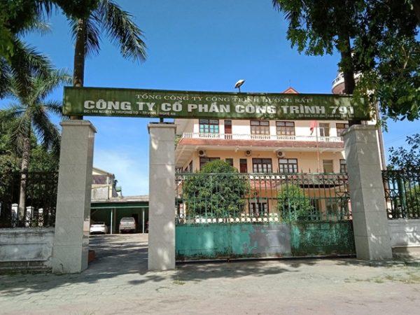 Nghệ An: Thanh tra làm rõ các sai phạm tại Công ty Cổ phần Công trình 791