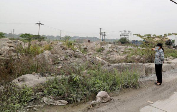 Hà Nội: Dân bức xúc vì dự án cây xanh thành nhà máy rác