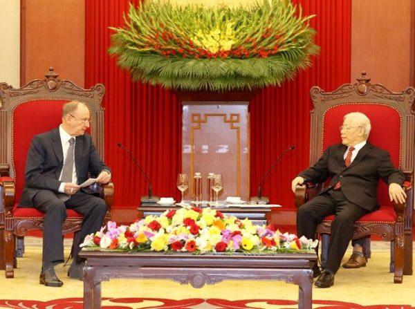 Nga mong muốn tăng cường và phát triển bền vững quan hệ Đối tác chiến lược toàn diện với Việt Nam