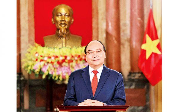 Chủ tịch nước Nguyễn Xuân Phúc tham dự Phiên khai mạc Diễn đàn châu Á Bác Ngao