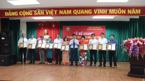 134 học viên hoàn thành khóa bồi dưỡng nghiệp vụ thanh tra viên chính K2