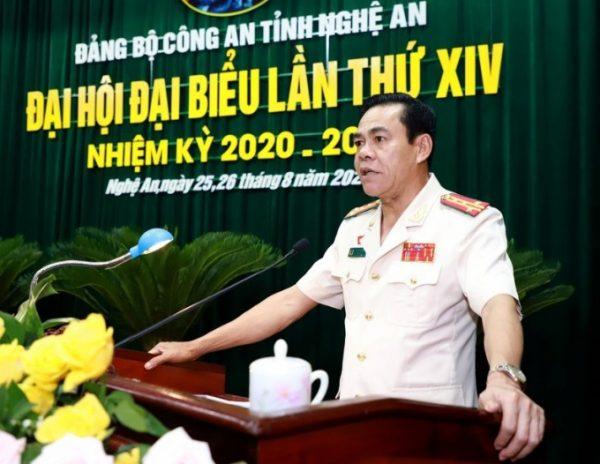 Điều động Giám đốc Công an tỉnh Nghệ An làm Phó Bí thư Tỉnh ủy Hà Tĩnh