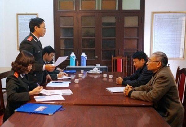 Đề xuất lập tổ công tác giải quyết dứt điểm 4 vụ việc KN,TC phức tạp tại Hà Nam