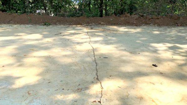 Cẩm Khê (Phú Thọ): Nghi vấn thi công đường không đúng thiết kế