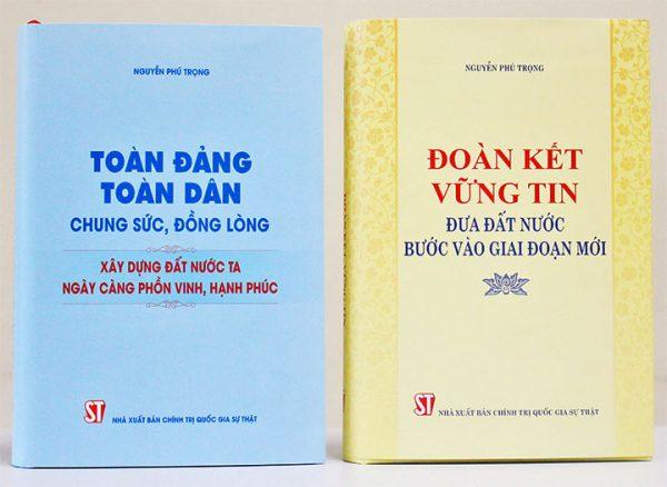 Hai cuốn sách giàu tính lý luận và thực tiễn của Tổng Bí thư Nguyễn Phú Trọng
