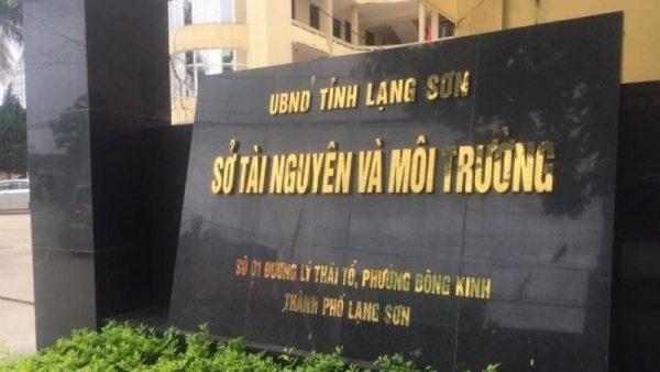 Khiển trách Giám đốc Sở Tài nguyên và Môi trường Lạng Sơn