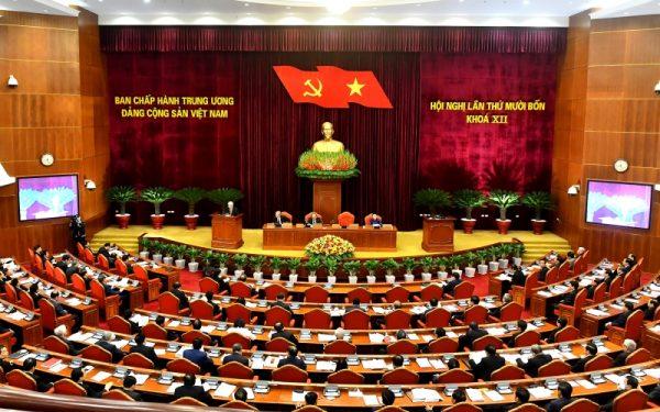 Thông cáo báo chí về ngày làm việc thứ hai của Hội nghị lần thứ 14 Ban Chấp hành Trung ương Đảng khóa XII